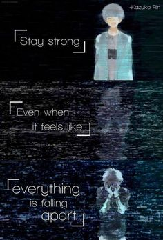 Anime: Tokyo Ghoul. This anime made me cry, it's moving in a really morbid way, but i LOVE it!