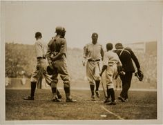 Yankee Stadium, Bronx, April 18, 1923 - Ruth homers in first game at Yankee Stadium