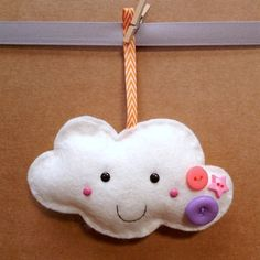 paper-and-string. Pink Star Fluffy Cloud :: Handmade 2015
