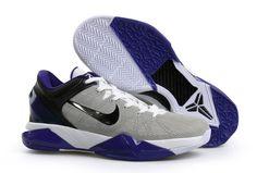 separation shoes d0a18 b3d19 Cheap Kobe 7 Grey Black Purple 488371 100 2018 Spring Summer Sale Purple  Basketball Shoes,