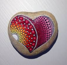 Image result for hearts PAINTED ON ROCKS