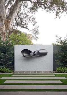 Rolled steel sculpture