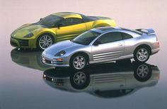 1998 Mitsubishi SST and 2000 Eclipse.jpg (650×426)