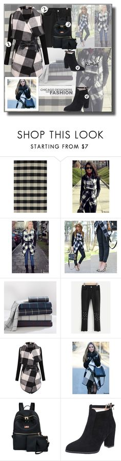 """Plaid romwe.1."" by smajicelma ❤ liked on Polyvore featuring PBteen, gift and sale"