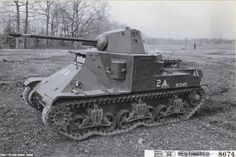 Flamethrower E2 on the basis of the M2A1 Medium Tank