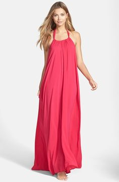 Elan Halter Cover-Up Maxi Dress available at #Nordstrom