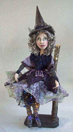 Winter Witch    Stephanie Novatski  Novasblossoms