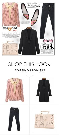 """""""Banggood #18"""" by cherry-bh ❤ liked on Polyvore featuring Sophia Webster, Kate Spade and BangGood"""
