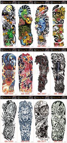 CMYK Printing Temporary Tattoo Stickers v3-001