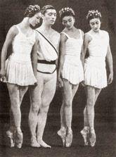 Moira Shearer, Michael Soames, Margot Fonteyn and Pamela May from Frederick Ashton's Symphonic Variations 1946