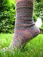 Hermione's Everyday Socks Free Knitting Pattern by Dreams in Fiber. Skill Level: Intermediate Toe-up fingering weight socks free knitting pattern on circular needles. Free Pattern More Patterns Like This! Knitted Socks Free Pattern, Crochet Socks, Knit Or Crochet, Knitting Socks, Knitting Patterns Free, Free Knitting, Knit Socks, Cozy Socks, Knit Patterns