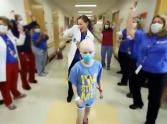Great upbeat video from the staff and patients of Cincinnati Children's Hospital...... I've Got a Good Feeling!!!  and it's beautiful!!!!!!!