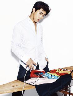 2PM's Ok Taecyeon CéCi Korea Magazine December Issue '13