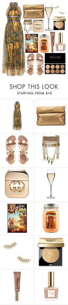 """""""⭐️"""" by burcaak ❤ liked on Polyvore featuring Valentino, Jigsaw, New Look, Gucci, Peugeot, Holiday Memories, Gorjana, Bobbi Brown Cosmetics and dress"""
