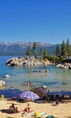 Sand Harbor. Lake Tahoe, Nevada.
