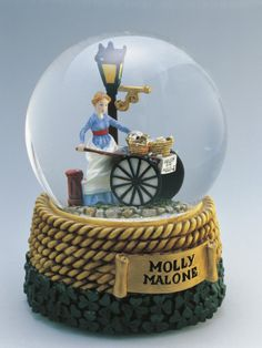 Figurine of Molly Malone Statue in a Snow Globe Photographic Print at AllPosters.com