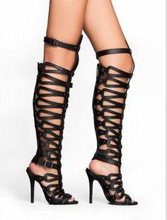 sandalias gladiadoras salto