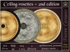 Ceiling rosettes - 2nd ed.