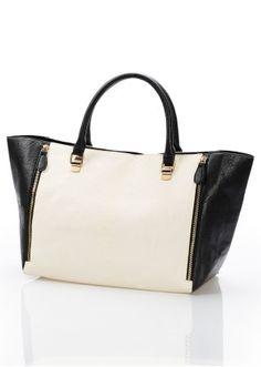 Den här väskan från bpc selection övertygar dels med sin höga kvalitet och  dels med sin klassiska färgkombination b3801d9d1ea48