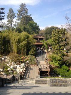 Huntington Botanical Gardens Conservatory in San Marino, CA