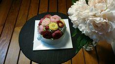 Beanpaste flower rice caks