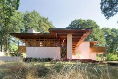 Gordon House, Silverton, Oregon, 1964. Frank Lloyd wright