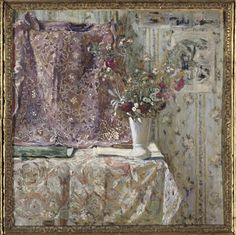 "Édouard Vuillard I have admitted on more than one occasion that Pierre Bonnard may just be my favorite ""Modern"" painter. Pierre Bonnard, Edouard Vuillard, Illustration Art, Illustrations, Post Impressionism, French Artists, Artist Art, Flower Art, Life Flower"