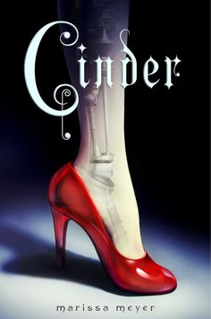 2) We'll start with the first book from Marissa Meyer, called Cinder.