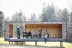 BUS:STOP Krumbach: 7 architects, 7 buildings, 7 statements