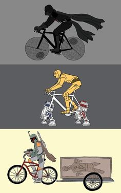 Bikes From A Galaxy Far, Far Away...