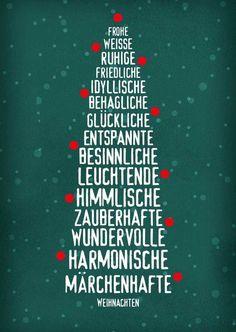Kostenlose Grußkarte Weihnachtskarte