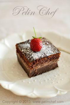 PelinChef: Magic Chocolate Cake SİHİRLİ ÇİKOLATALI KEK