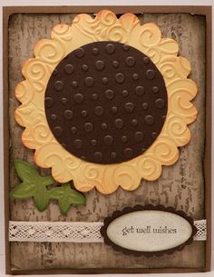 Rustic Sunflower; easy.