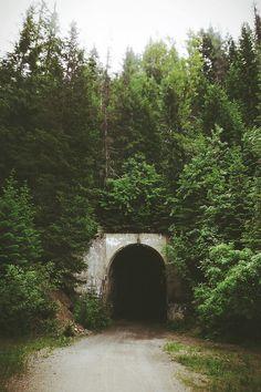 Hiawatha Trail, Idaho.