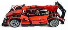 Audi R18 TDI... In #Lego Technic. (@Fourtitude)