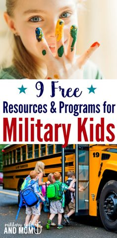 Learn 8 free educational resources for military kids that will help support your child's education through all the ups and downs of military life.