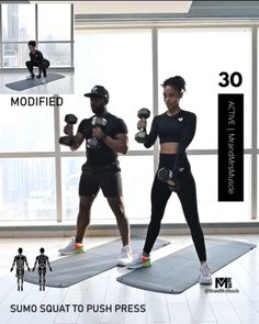 Fitness Workouts, Hiit Workout Videos, Full Body Hiit Workout, Hiit Workout At Home, Gym Workout For Beginners, Gym Workout Tips, Fitness Workout For Women, Dumbbell Workout, Workout Challenge