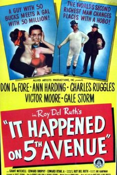 Watch It Happened on Fifth Avenue Full Movie Online