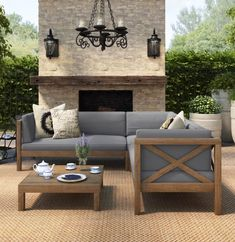 Discover the best teak patio furniture sets for your home. We love teak garden furniture for a patio, deck, balcony, or porch. You will love the deep seating teak sofa sets and the wonderful teak dining sets we have listed for sale. Outdoor Sofa Sets, Indoor Outdoor, Outdoor Seating, Outdoor Living, Outdoor Sectional, Resin Patio Furniture, Teak Outdoor Furniture, Backyard Furniture, Furniture Ideas