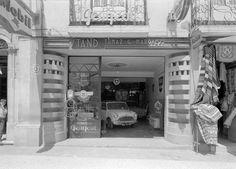 https://flic.kr/p/o5kgrH | Stand Tomaz G. Marques, Portugal | Fachada do stand. Fotografia sem data. Produzida durante a atividade do Estúdio Horácio Novais, 1930-1980.  [CFT164.162722]