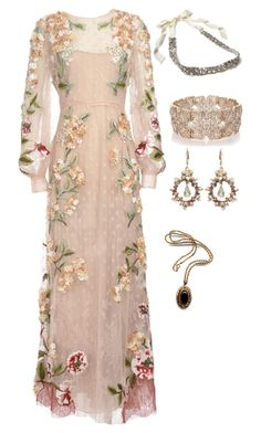 """Lady Kenna"" by australiandetective ❤ liked on Polyvore featuring Valentino, Ranjana Khan and Oasis"