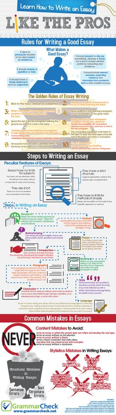 How to write a story-like essay?