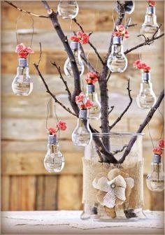 Set of 4 Light bulb flower vase. by REVIO on Etsy - LoveItSoMuch.com