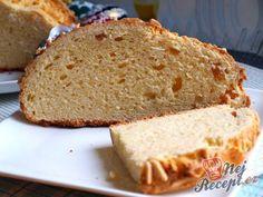 Tvarohový mazanec   NejRecept.cz Crinkles, Food And Drink, Bread, Cake, Recipes, Anna, Easter Food, Top Recipes, Deli Food