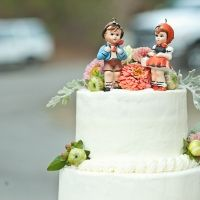 vintag cake, idea, vintage cakes, cake toppers