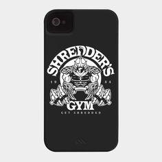 Shredder's Gym Phone Case By BiggStankDogg Design By Humans