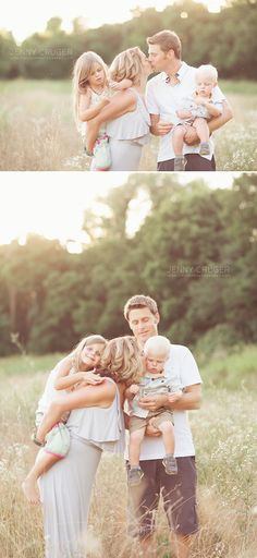 ***** similar to the top.  Beckham on daddys shoulders, mommy holding Breckyn, Braxton between us with his arms around us and us touching him, and mommy and daddy kissing ******franklin family photography .  the hakanson family www.jennycrugerphotography.com