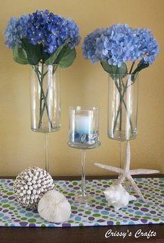 DIY Pedestal Vase dollar store