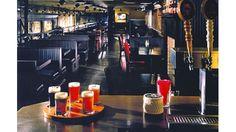 Heartland Brewery union Square MeZZaniine.  $20 open bar for events!