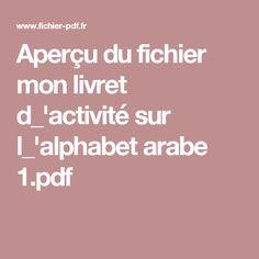 Aperçu du fichier mon livret d_'activité sur l_'alphabet arabe 1.pdf